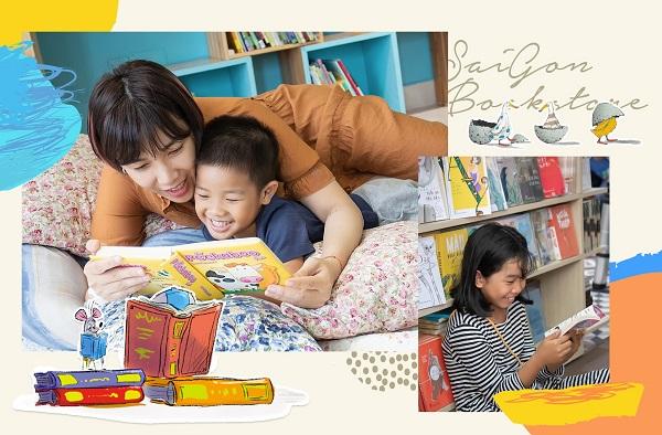 Những cuốn sách thiếu nhi mà trước đây mẹ không mấy khi đọc nay sẽ gắn bó với mẹ