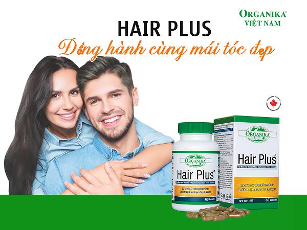Organika Hair Plus là giải pháp chống rụng tóc hiệu quả, đã được tin dùng tại 33 quốc gia