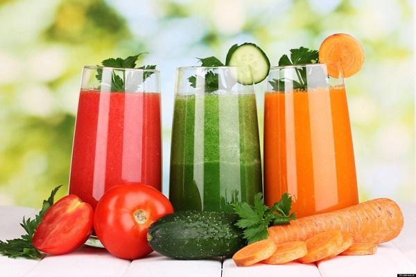 Nước ép hoa quả không bằng nước ép rau củ