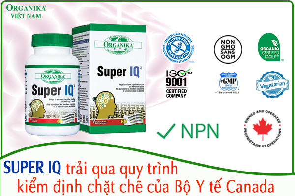 Super IQ có mã NPN Code là 80041685