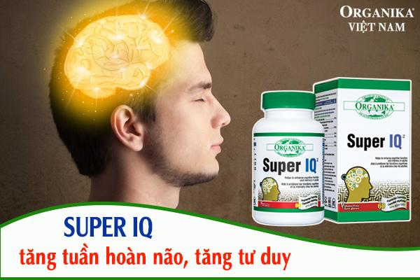 Thuốc bổ não Super IQ mang đến nhiều công dụng tuyệt vời cho não bộ