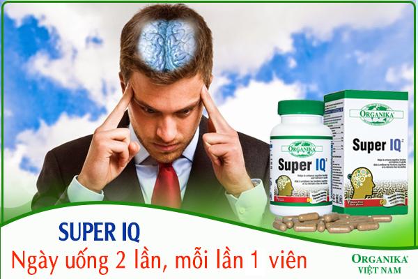 Nên sử dụng thuốc bổ não Super IQ đúng cách để đạt hiệu quả cao nhất