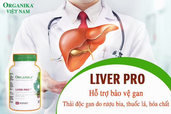 Liver Pro - Giải pháp hỗ trợ bảo vệ gan hiệu quả