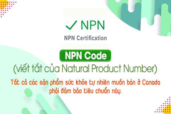 NPN Code (viết tắt của Natural Product Number)