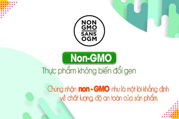Non-GMO: Thực phẩm không biến đổi gen