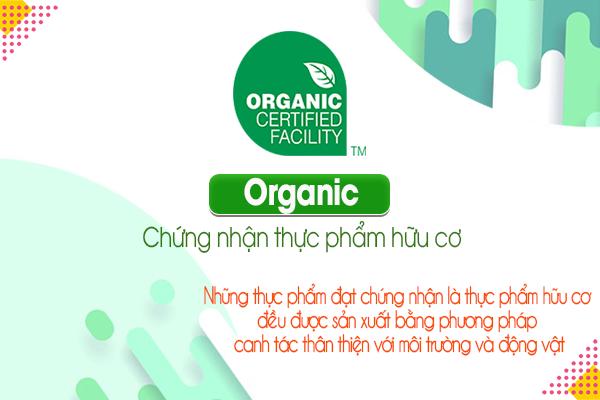 Organic: Chứng nhận thực phẩm hữu cơ