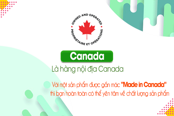 Canada: Là hàng nội địa Canada