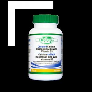 Chelated Calcium Magnesium Zinc With Vitamin D3